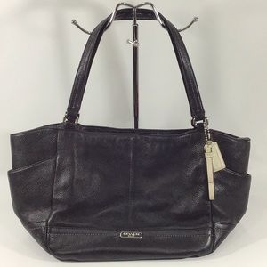 Coach F23284 Park Leather Carrie Tote